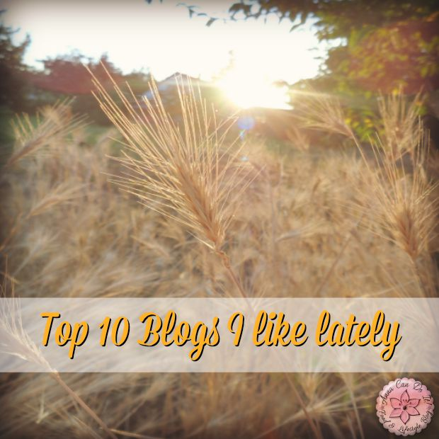 Top 10 Blogs I like lately