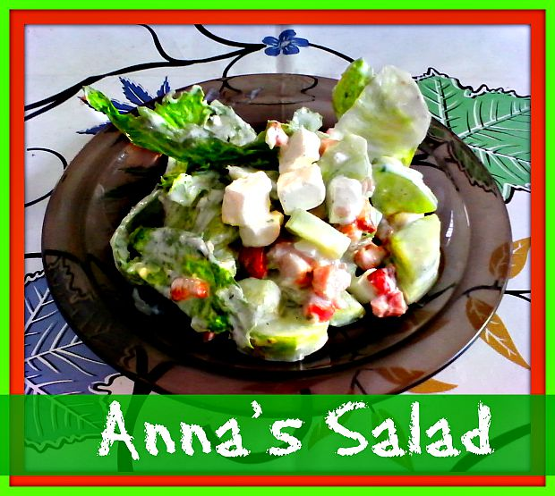 Anna's salad - Anna Can Do It!