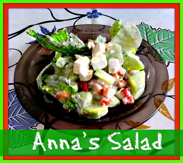 Anna's salad - Anna Can Do It!