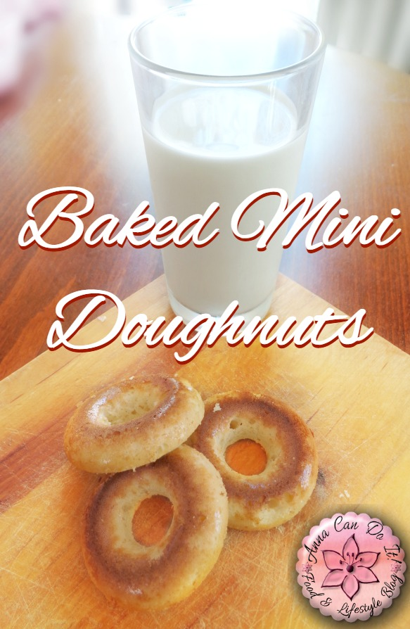 Baked Mini Doughnuts - Anna Can Do It!