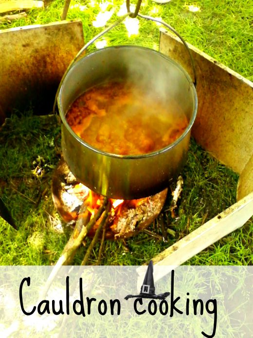 Cauldron cooking, pork stew - Anna Can Do It!