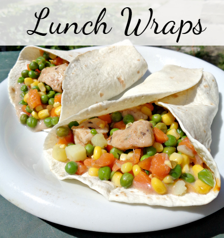 Lunch Wraps and Workout Routine - Anna Can Do It! Pin it for later and press ♥ if you like it!