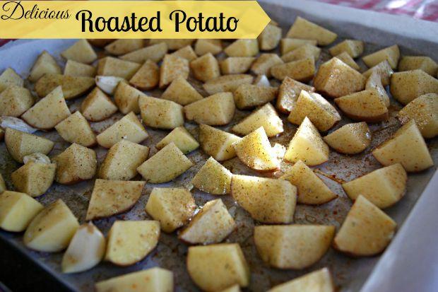 Delicious Roasted Potato - Anna Can Do It!