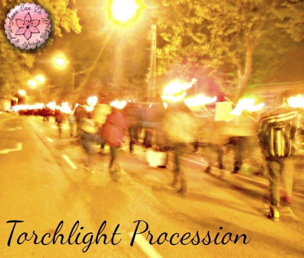 Torchlight Procession and walking - Anna Can Do It!