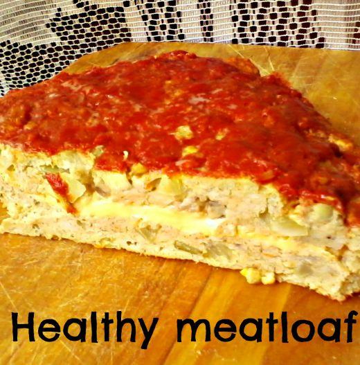 Healthy meatloaf - Anna Can Do It!