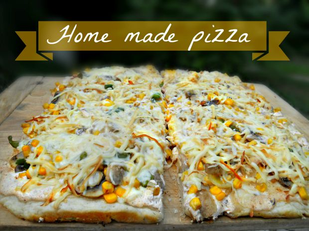 Home made pizza - Anna Can Do It!