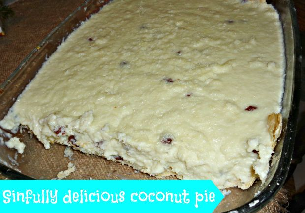 New Year Post - Anna Can Do It! - Sinfully delicious coconut pie