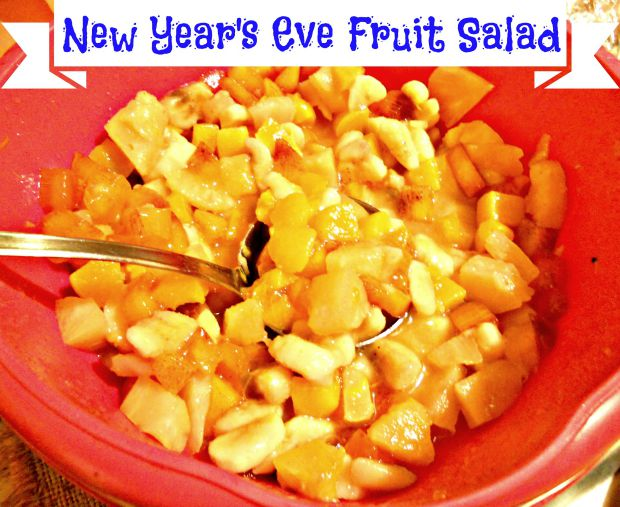 New Year Post - Anna Can Do It! - New Year's Eve Fruit Salad