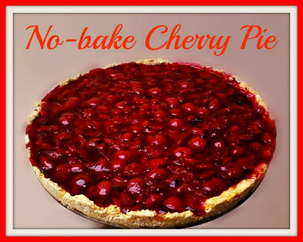 No-bake cherry pie - Anna Can Do It!