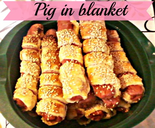 Mummy hot dog/Pig in blanket - Anna Can Do It!