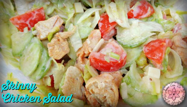Skinny Chicken Salad - Anna Can Do It!