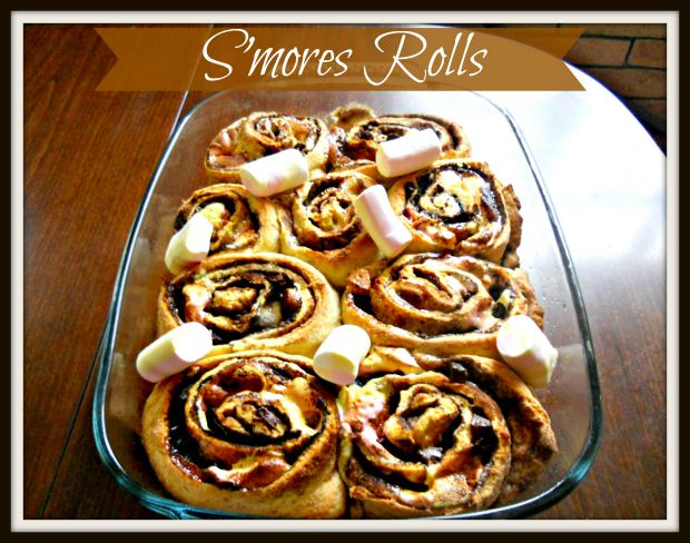 S'mores Rolls - Anna Can Do It!