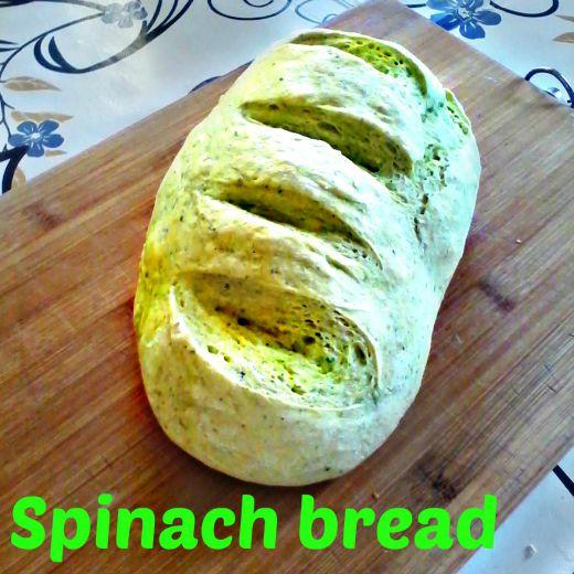 Spinach bread recipe - Anna Can Do It!