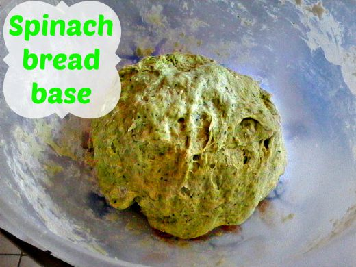 Spinach bread recipe - Anna Can Do It!