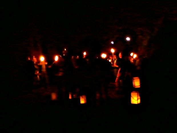 Torchlight procession and Labor Day - Anna Can Do It!