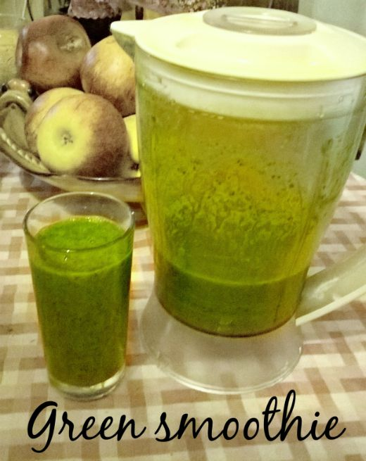 Green Smoothie - Anna Can Do It!