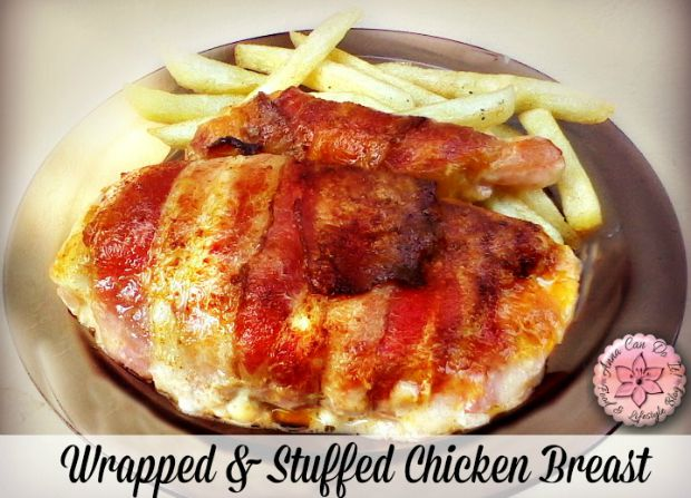Wrapped Stuffed Chicken Breast - Anna Can Do It!