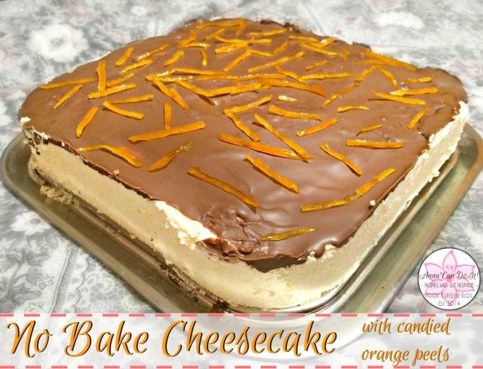 No Bake Cheesecake - Christmas Recap with Recipes - Anna Can Do It!
