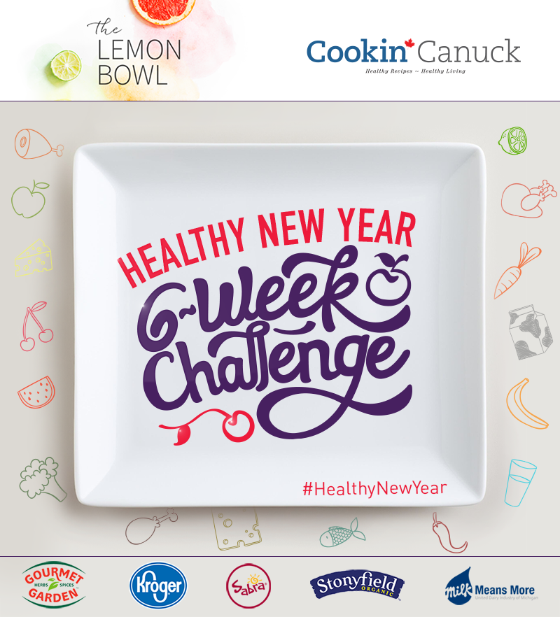 Healthy New Year 6-Week Challenge Logo