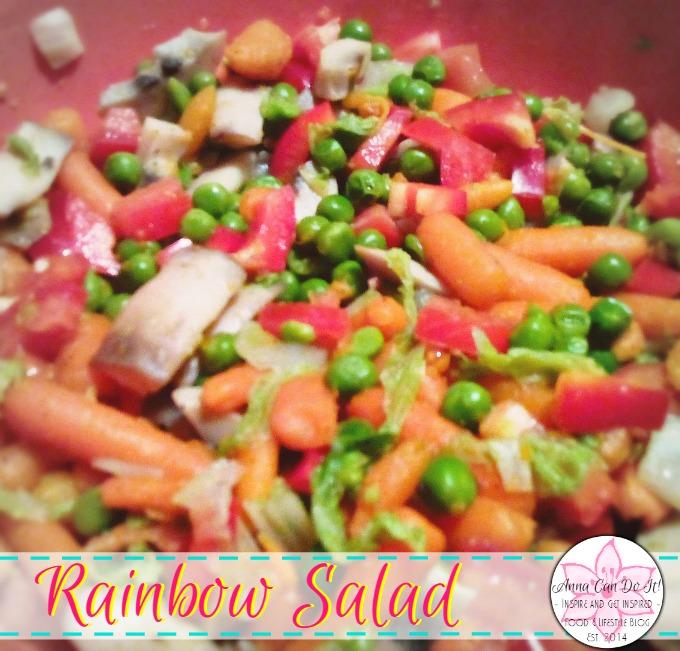 Rainbow Salad - Anna Can Do It!