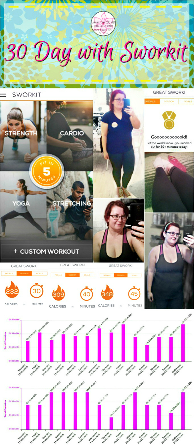 30 Day with Sworkit - Anna Can Do It!