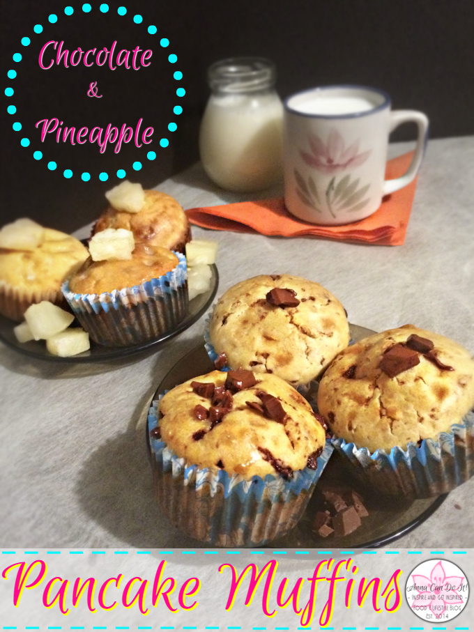 Pancake Muffins - Anna Can Do It!