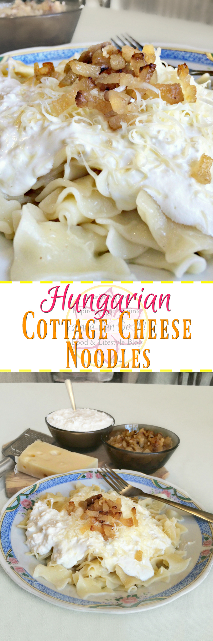Hungarian Cottage Cheese Noodles   Anna Can Do It!  The Hungarian Cottage  Cheese Noodles