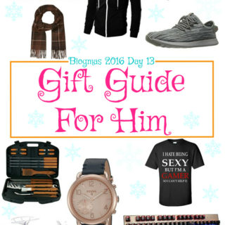 Blogmas 2016 Day 13 – Gift Guide For Him