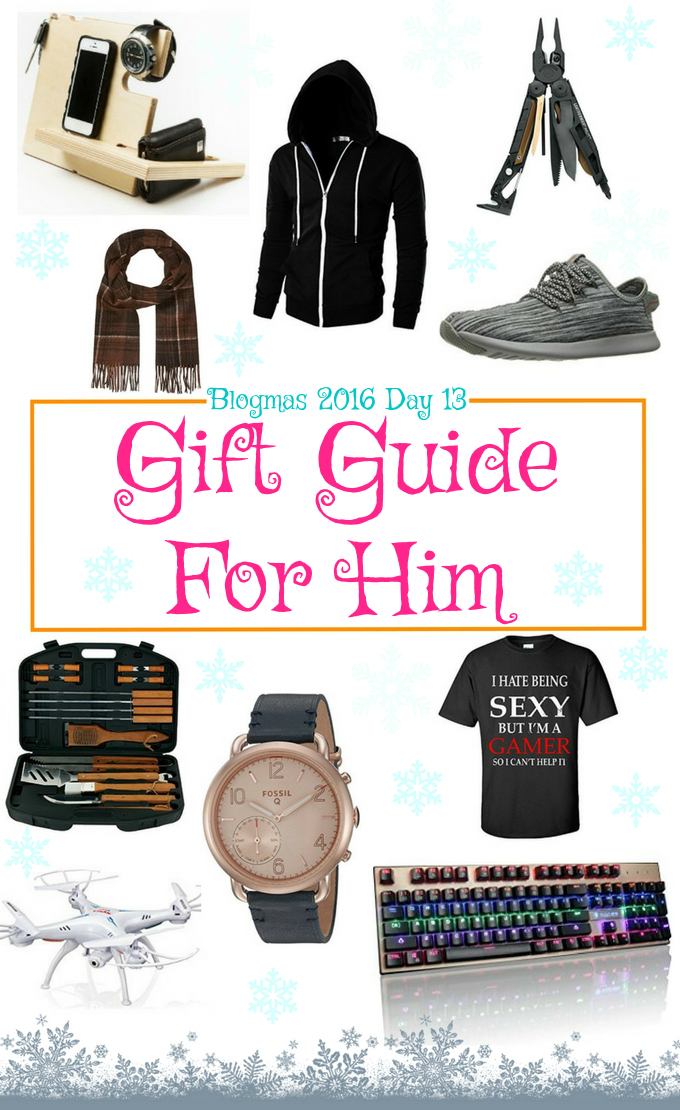 Blogmas 2016 Day 13 – Gift Guide For Him - Anna Can Do It!