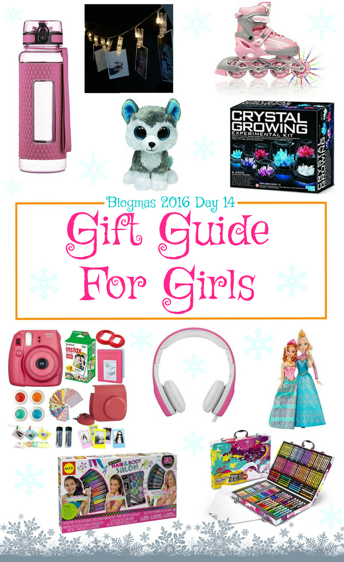 Blogmas 2016 Day 14 – Gift Guide For Girls - Anna Can Do It!