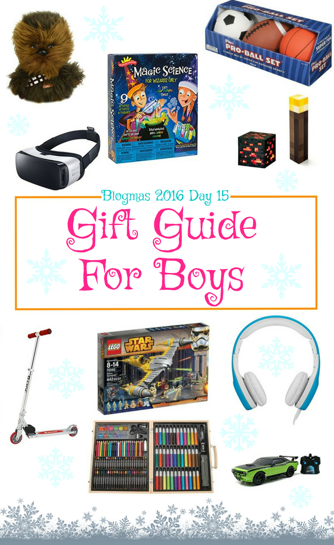 Blogmas 2016 Day 15 – Gift Guide For Boys - Anna Can Do It!