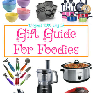 Blogmas 2016 Day 16 – Gift Guide For Foodies