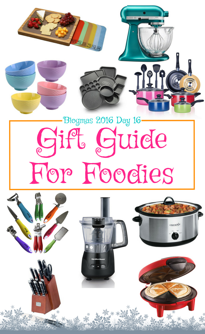 Blogmas 2016 Day 16 – Gift Guide For Foodies - Anna Can Do It!