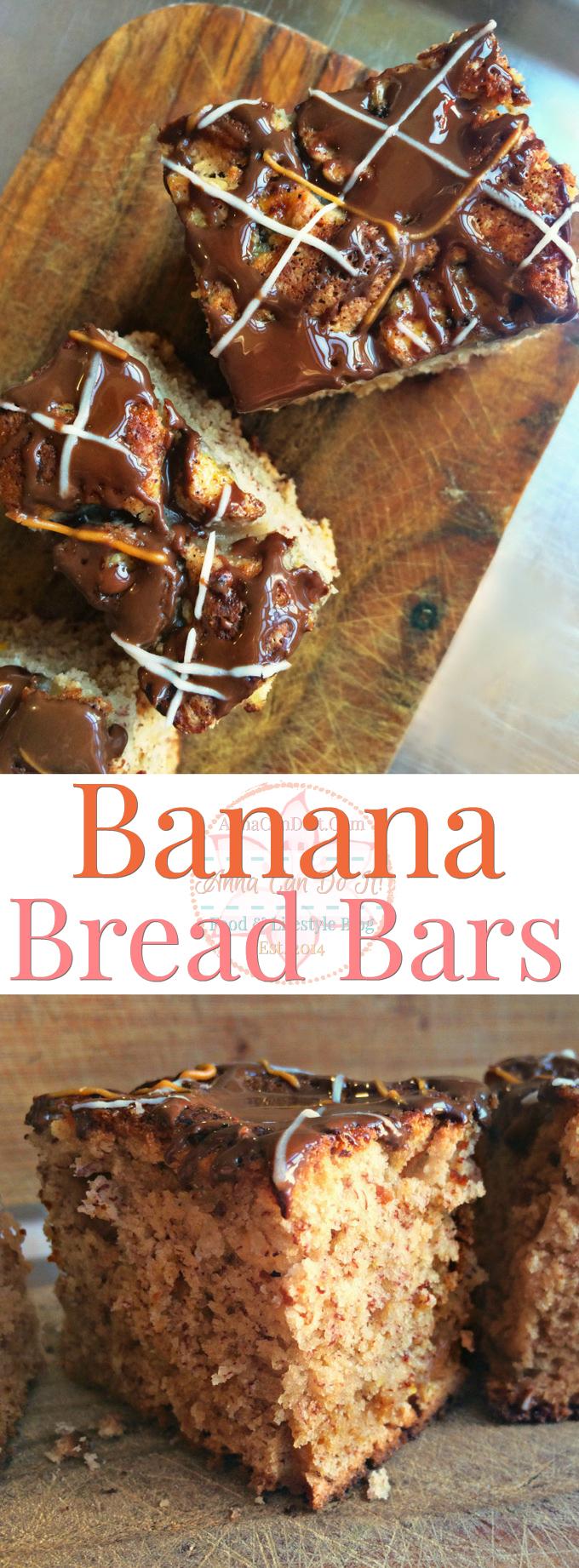 Banana Bread Bars - Anna Can Do It!