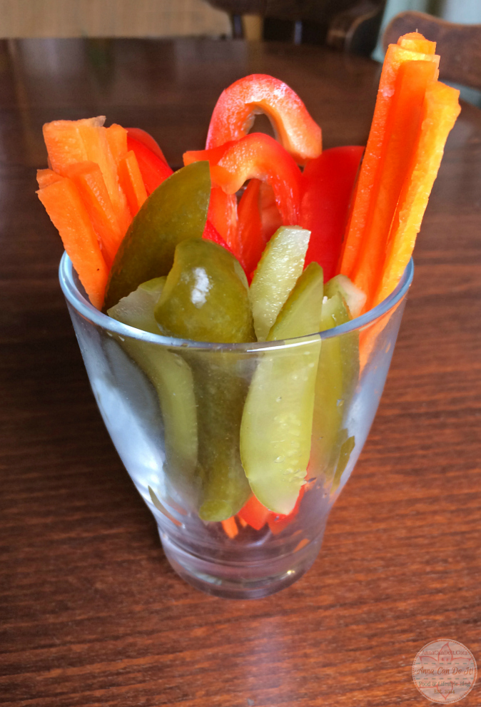 Healthy Snacks - Anna Can Do It! - Vegetable Sticks