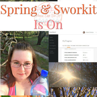 Spring & Sworkit Is On - Anna Can Do It!