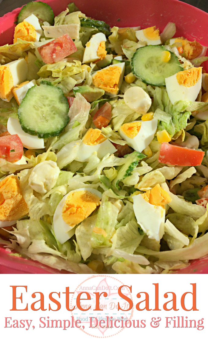 Easter Salad - Anna Can Do It!