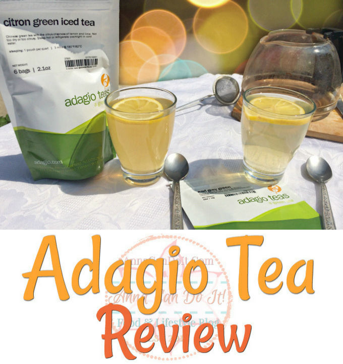 Adagio Tea Review - Anna Can Do It!